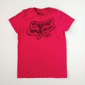 Fox Racing Hot Pink Short Sleeve Shirt S